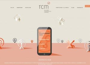 nueva web RCM