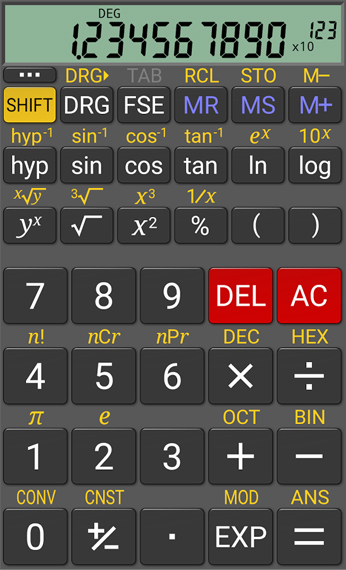app RealCalc Scientific Calculator